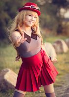 Pokemon Serena . I choose you by kazenary