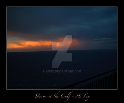 Storm on the Gulf 01 by AiFey