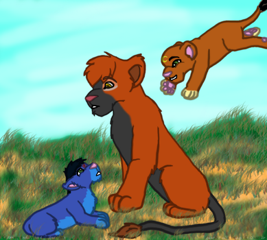 Adventures in Cub Sitting by Quachir