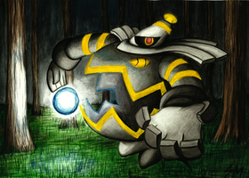 Dusknoir by The-Spikey-Mouth