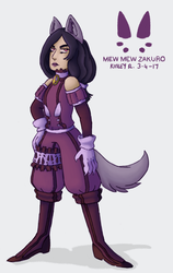 Tokyo Mew Mew Redesign Project: Zakuro by AbyssinChaos