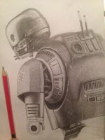 Star Wars droid K-2SO by BennyMacART