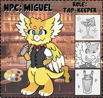 NPC Contest: Miguel by Kremesicle