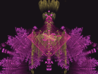 fun pink fractal thing by TanithLipsky