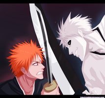 Ichigo Vs Hichigo by AllanWade