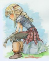 Astrid Watercolor by curry23