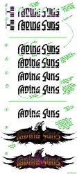 Fading Suns 4th-Edition Logo-Development by SteffenBrand