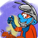 Ant-Smurf by Citrusman19