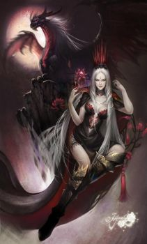 Tiamat by jjlovely