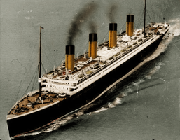 The Lady from Above by RMS-OLYMPIC