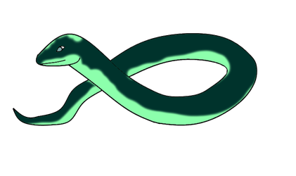 Teal Snek by RavensHeart
