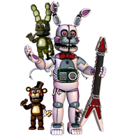 Funtime Bonnie V2 by TheRealBoredDrawer