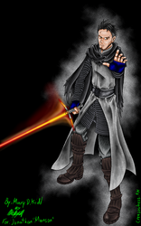 Manson Sith (Kylo Ren cosplay) Full color by MaryDKidd