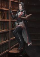 Library by NibelArt
