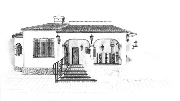 Spanish house 5 by van27