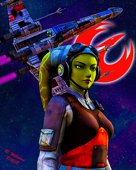 Star Wars Rebels: Hera by tkdrobert