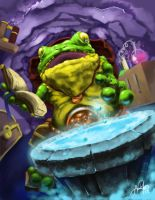 Frog Wizard by Endrju89