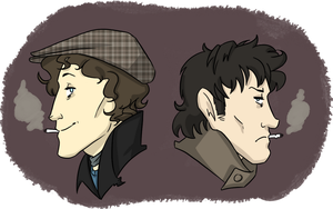Marwood and Withnail by ZiggBot