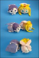 Stacking Plush: Mini Neo Queen + King by Serenity-Sama