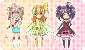Cute Adoptables - closed by YuikoHeartless