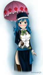 Juvia digital version by Annouk64