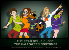 The Year Belle Chose The Halloween Costumes by goofymoNkey