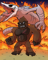 Kong by SonicKnight007
