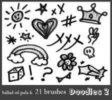 Brushes - Doodles 2 by ballad-of-pola-k