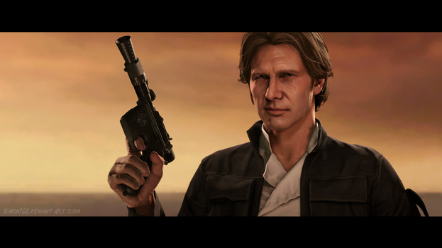 Han Solo - Starwars BATTLEFRONT - SFM by lemon100