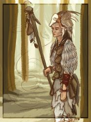 The Shaman by My-Sword-is-Bigger