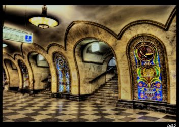Through the Stained Glass HDR by ISIK5