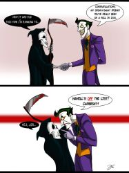 Joker meets the Reaper by TysKaS