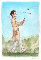 Cas and bees by CaptBexx