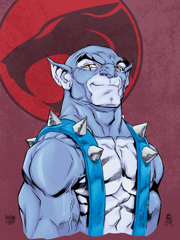 Panthro Roger Cruz Test Colors by MentalPablum