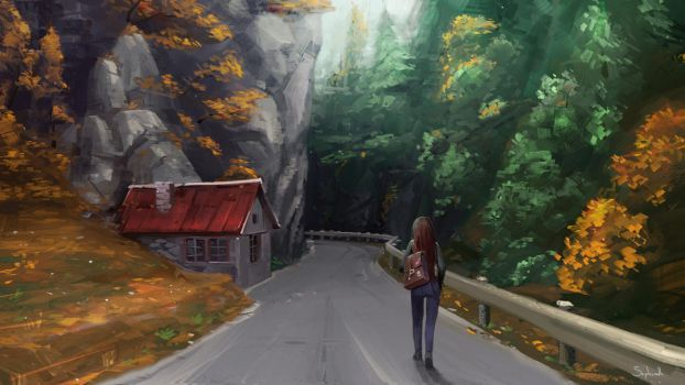 Hideaway Road by Sephiroth-Art