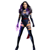 Psylocke - Transparent by Asthonx1