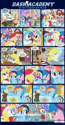 Chinese: Dash Academy 6 - The Secrets We Keep p3 by HankOfficer
