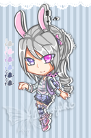 .:Adopted:. Pastel-Usagi by Devil1lin
