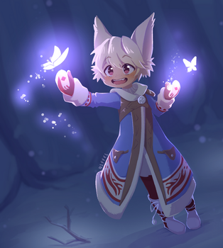 [COM] Winter mage by Nifffi