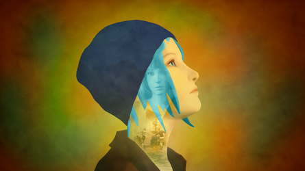 Life Is Strange - Chloe Wallpaper (No logo) by RockLou