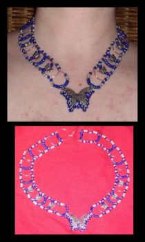 Butterfly Collar by Catgoyle