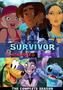 Survivor Enchanted Forest DVD Cover by shadow0knight