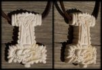 Thors Hammer pendant by Wodenswolf