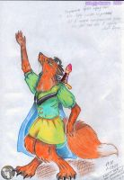 Beda -from Mossflower- by WildFairy-Suane