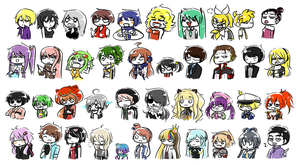 :VOCALOIDS:ALL:OF:THEM: by KaiSuki