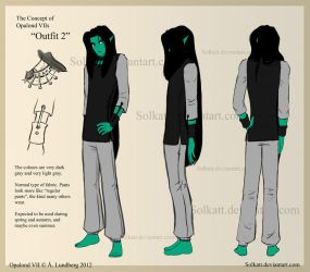 the Concept of Opalond VII - outfit 02 by Solkatt