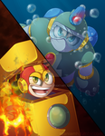 Fire and Water by Ruaniamh