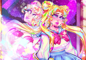 Sailor Moon Redraw by Chromalav