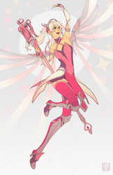 Pink Mercy by whispwill