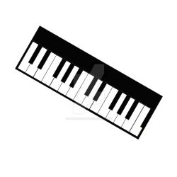 Piano Vector Stamp by MHuang51491